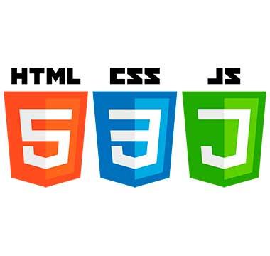 Logotipo de HTML, CSS, JavaScript